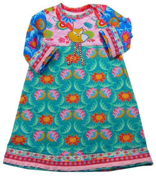 Klimperklein Kinderkleid - Kleider aus Jersey - Papierschnittmuster erhältlich bei farbenmix.de - Kleider aus Jersey nähen - Schritt für Schritt Anleitung