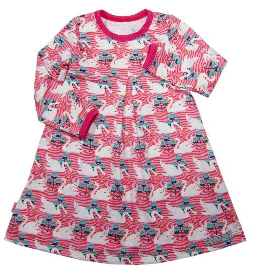 Kinderkleid von klimperklein - Kleider aus Jersey selber nähen mit Papierschnittmuster von farbenmix