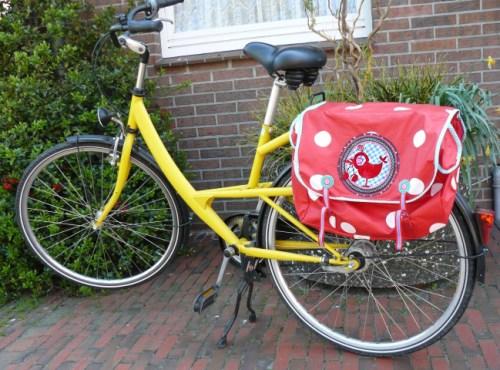 Ebook Fahrradtasche nähen HOPPHOPPHOPP von farbenmix - für große und kleine Fahrräder