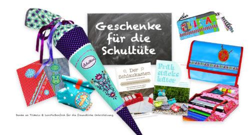 Schultüte Inhalt - Ideen und Tipps rund um den ersten Schultag - Was kommt in die Schultüte?