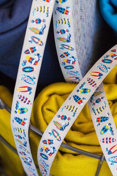Webband Surfing von Lila Lotta Design - cooles Webband nicht nur für Jungs von farbenmix