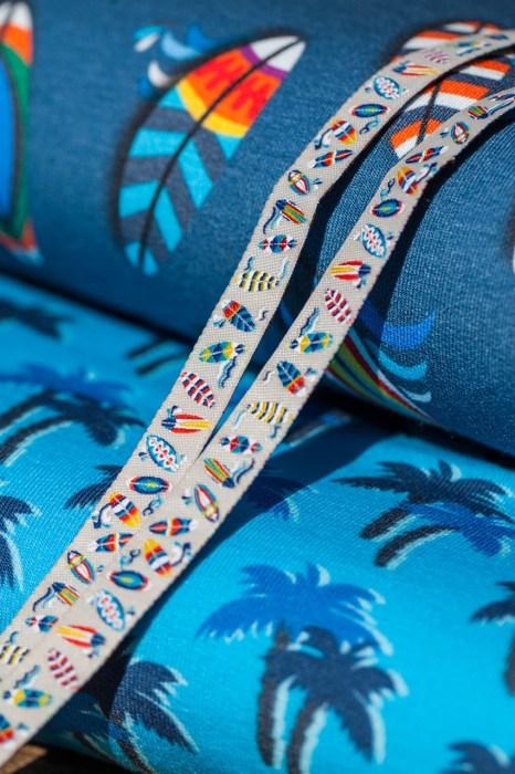 Surfing Webband von Lila Lotta Design für Farbenmix.de