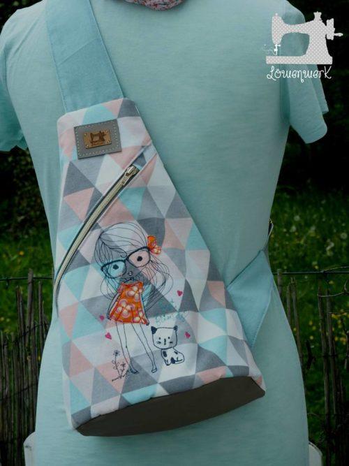 löwenwerk Beispiel crossbag ebook farbenmix taschenspieler