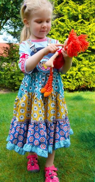 Stufenkleid Sasha - neu als Ebook jetzt bei farbenmix