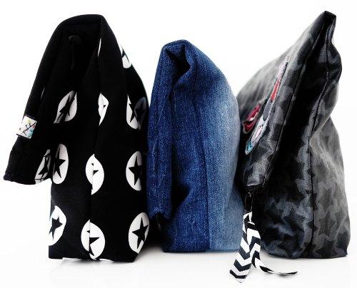 Kosmetiktasche Taschenspieler 3 - Freebook Freebie farbenmix Schnittmuster und Ebooks für Taschen