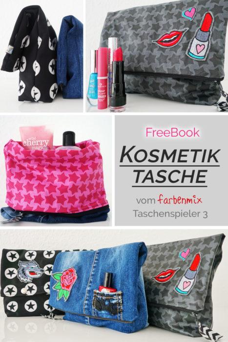 Freebook Freebie Kosmetiktasche von der farbenmix Taschenspieler 3 CD