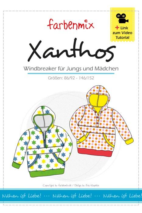 Windbreaker Xanthos - für Jungs und Mädchen - neue überarbeitete Anleitung plus Videoanleitung bei farbenmix
