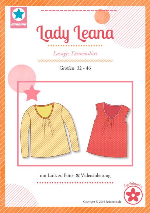 Papierschnittmuster von mialuna Lady Leana jetzt bei farbenmix
