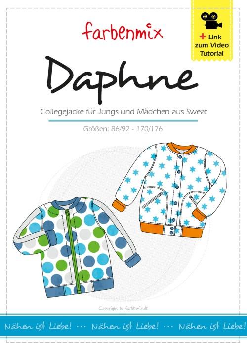farbenmix Schnittmuster DAPHNE jetzt neu überarbeitet mit Videoanleitung