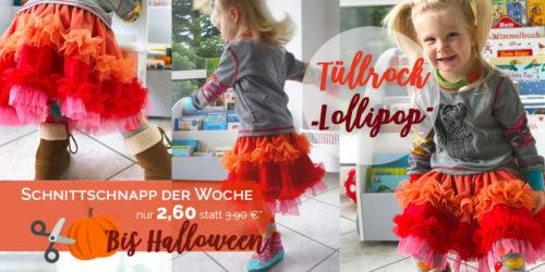 SchnittSchnappderWoche Tüllrock Lollipop