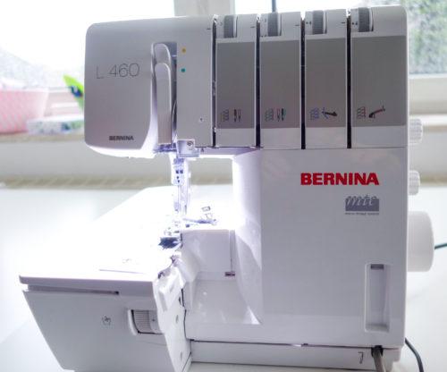 Overlock aus farbenmix Nähzimmer - die Bernina L 460
