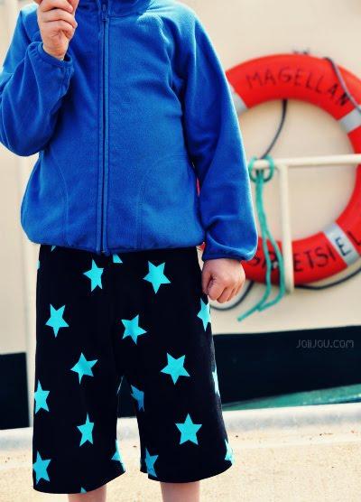 Bermuda Shorts nähen für Kinder Ebook von farbenmix