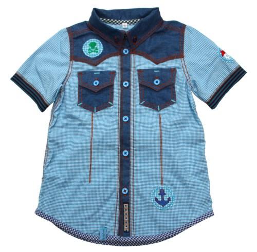 Hemd oder Bluse nähen mit JOEY von farbenmix jetzt als Ebook im Shop