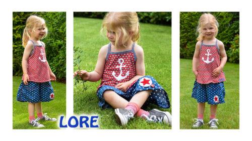 Lore Hosenrock undTop Ebook für Kinder von farbenmix
