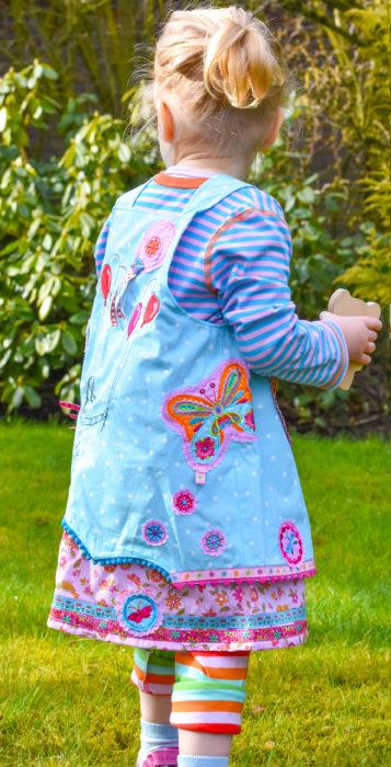 Rückenansicht Trägerkleid Marieke von farbenmix