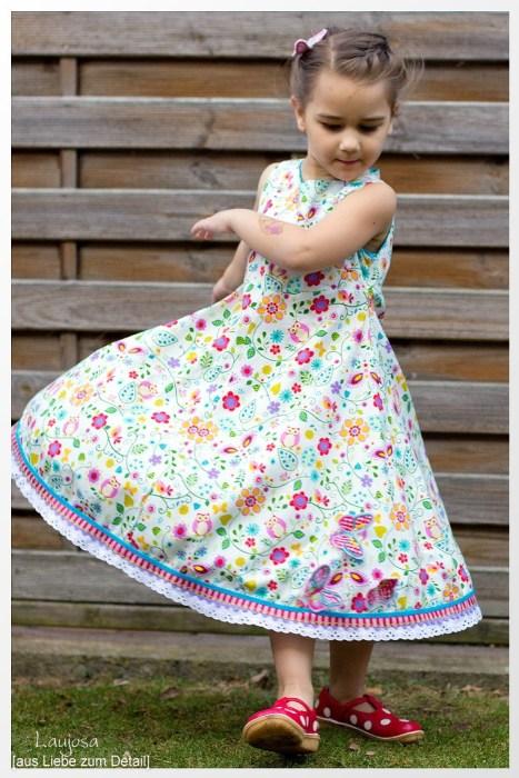 Einschulungsgeschenke - ein selbstgenähtes Einschulungskleid zum Beispiel UNIQUE von farbenmix als Ebook