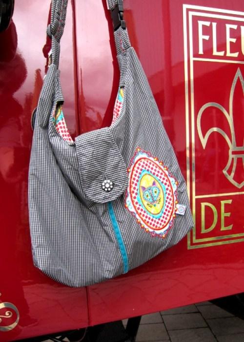 Schnittschnappderwoche Allesdrin Ebook von farbenmix. Strandtasche nähen mit den Nähanleitungen von farbenmix