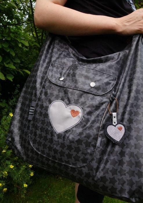 Allesdrin Tasche - praktisches Taschenschnittmuster in zwei Größen für eine Umhängetasche