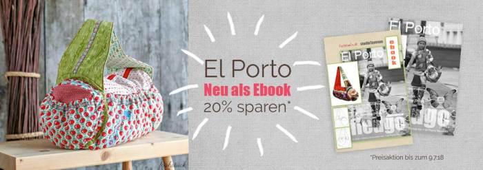 El Porto - ein farbenmix Taschenliebling - endlich auch als Ebook Schnittmuster
