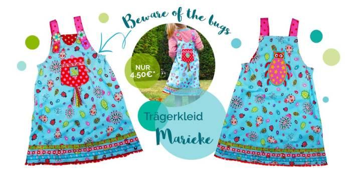 Retrokleid Marieke ein Trägerkleid Schnittmuster von farbenmix jetzt im Angebot