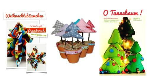 kostenlose Schnittmuster für Anfänger - gratis Schnittmuster für Weihnachten