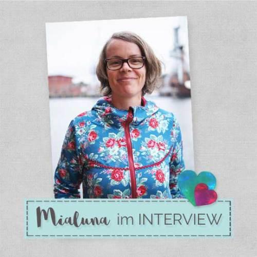 Interview mit Maria von Mialuna - jetzt auf dem format nähen blog - farbenmix