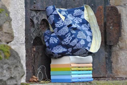 Beutelatsche Schnittmuster von farbenmix zum Ausdrucken - Taschen nähen