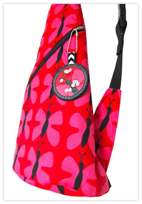 Crossbag Rucksack nähen Schnittmuster Tasche von farbenmix