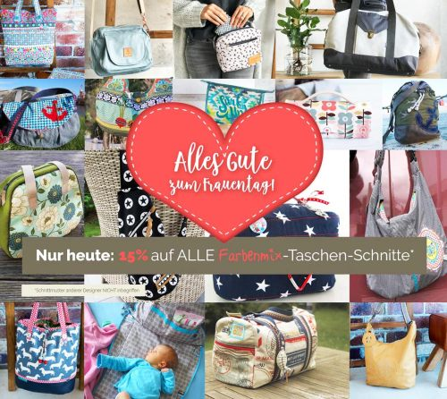 Weltfrauentag 2019 farbenmix Aktion
