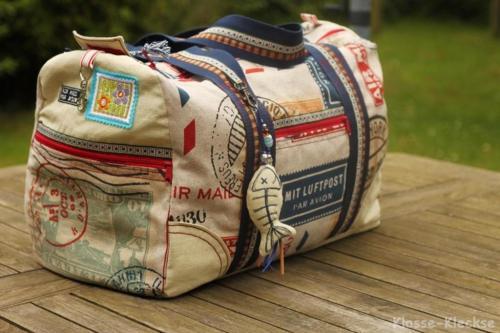 El Grande Taschen nähen mit Schnittmuster von farbenmix