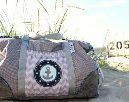 El Grande Ebook Taschen nähen große Reisetasche, Freizeittasche farbenmix Schnittmuster