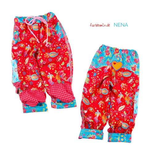 Kniebundhose nähen mit NENA von farbenmix