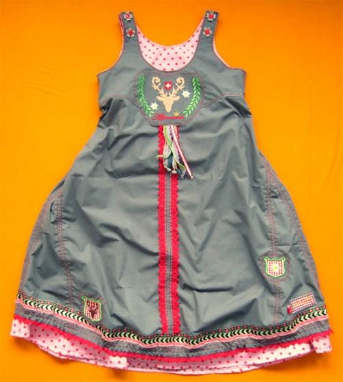 Rosalie - Kinder Trägerkleid nähen - Schritt für Schritt Anleitung von farbenmix