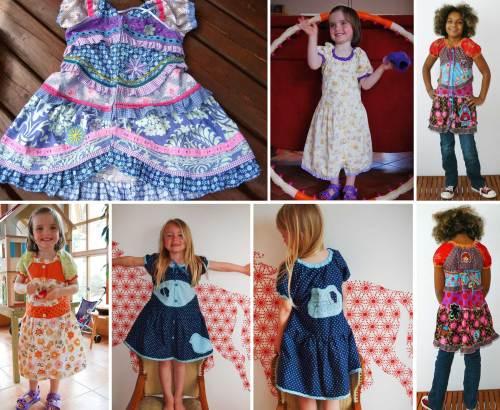 Destina Blusenkleid Schnittmuster für Kinder - Sommerschnittmuster