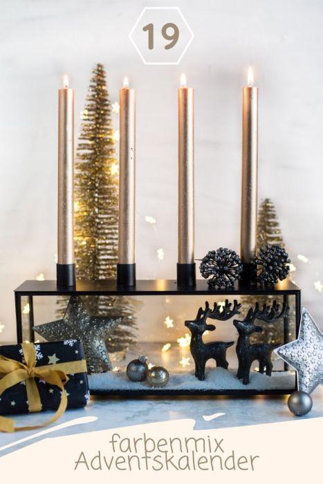 Linktool Adventskalendertasche Marisa farbenmix Adventskalendertasche 2019
