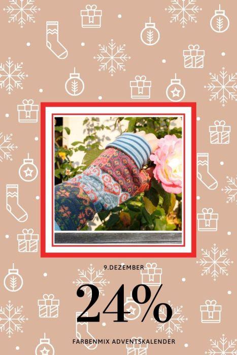 farbenmix Adventskalender Tag 9 Stulpen Ebook farbenmix