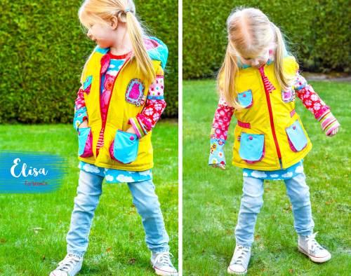 Kinderweste Elisa nähen von farbenmix