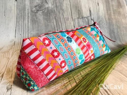 kleine Täschchen Schlampermäpchen Stiftetäschen nähen mit farbenmix Taschenvielfalt Taschenspieler 5