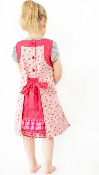 Farbenmix Osterspecial Baumwolle mit Rosenblüten rosa