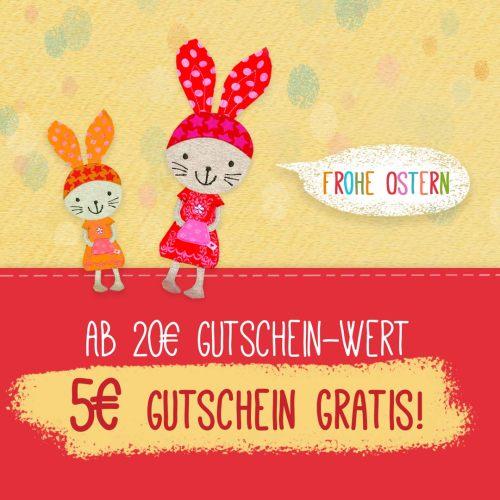 Gutscheinaktion farbenmix Ostern