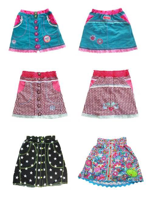 Minrock für Kinder nähen Carlotta von farbenmix