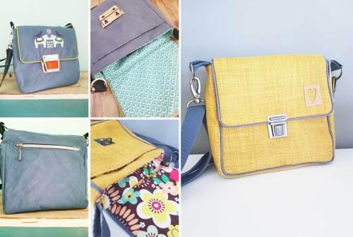 Taschen von Puschenhexe - farbenmix Ebook Käthe Retrotasche