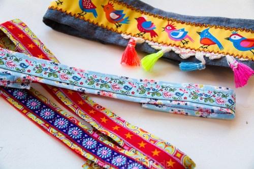 Nähen für die Einschulung Geschenke Schultüte Haarband