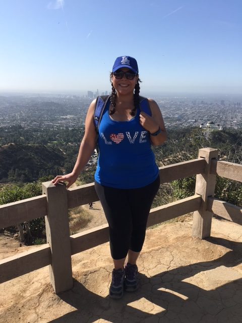 Dante's Peak at Griffith Park in LA