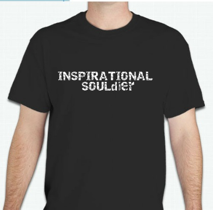 To order your Limited Edition Inspirational SOULdiers shirt, ($25) click contact and let us know size and quantity.  10% of all proceeds goes to Summits for Vets Non-Profit.