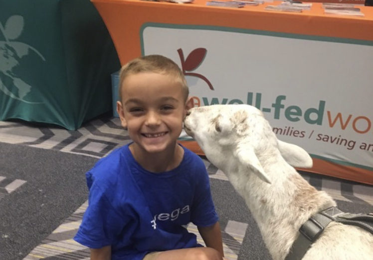 Inspirational Vegan Kids: Atticus (Age 8) - I Want to Grow Up to Be an Activist. Wait. I Already Am One!