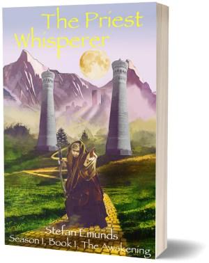 Priest Whisperer 3D Book Cover