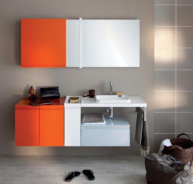 Inspiration Une Salle De Bains Orange Inspiration Bain