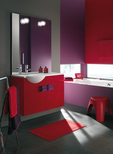 Inspiration Une Salle De Bains Rouge Inspiration Bain