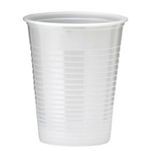 Gobelet plastique blanc